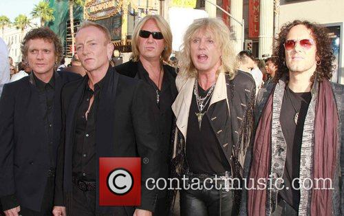 Savage, Def Leppard and Grauman's Chinese Theatre 2