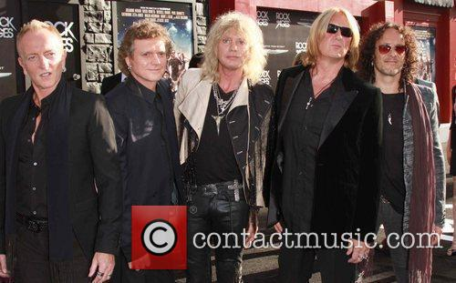 Savage, Def Leppard and Grauman's Chinese Theatre 1