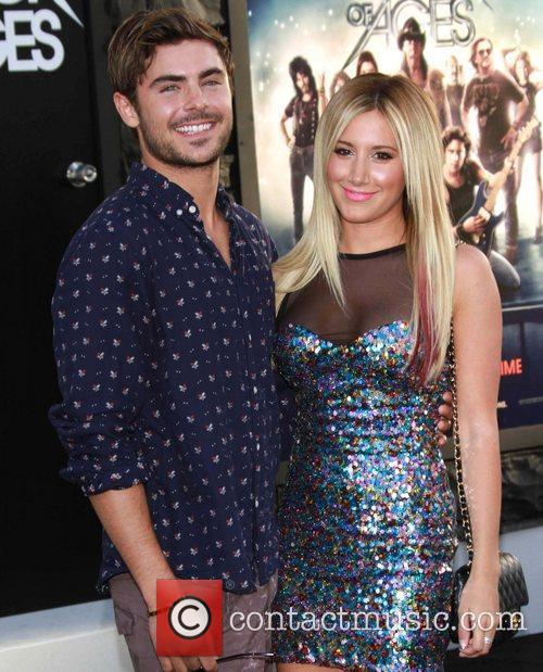 Zac Efron, Ashley Tisdale and Grauman's Chinese Theatre 6