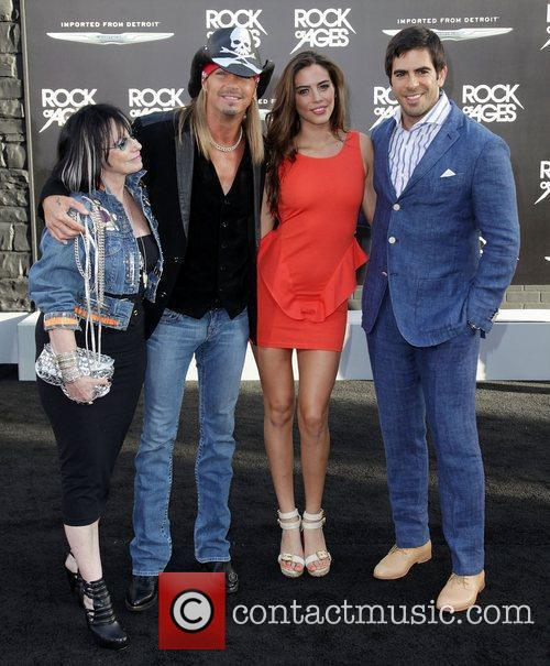 Bret Michaels, Eli Roth and Grauman's Chinese Theatre 2