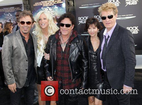 Jonathan Cain, Neal Schon, and Ross Valory of...