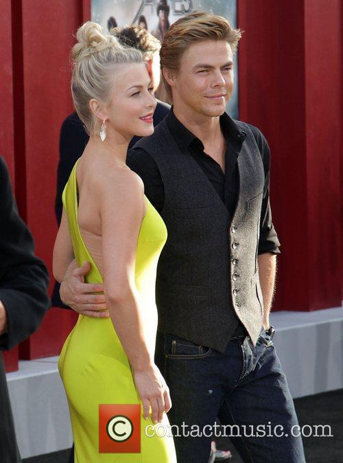 Julianne Hough and Derek Hough 4