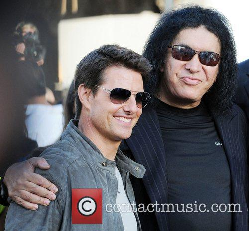 Tom Cruise, Gene Simmons, and Nick Simmons Premiere...