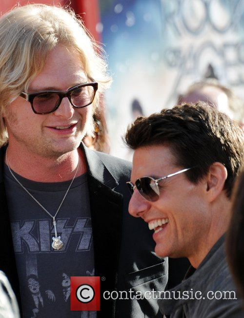 Singer Joe Elliott and Tom Cruise Premiere Of...