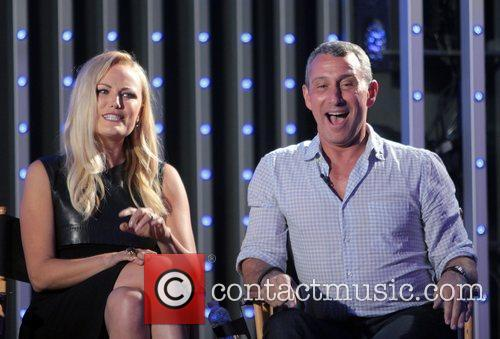 Malin Akerman and Adam Shankman 2