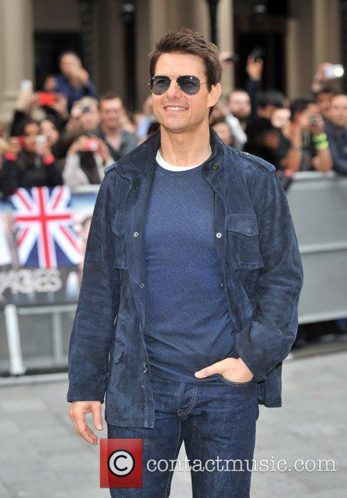 Tom Cruise and Odeon Leicester Square 5