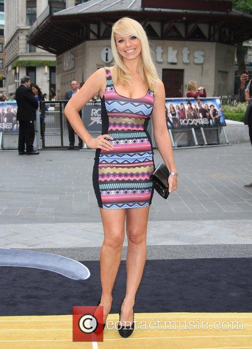 Liz Mcclarnon and Odeon Leicester Square 4