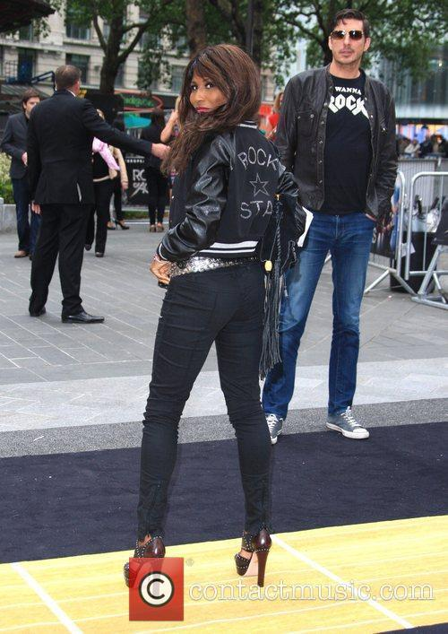 Sinitta and Odeon Leicester Square 5