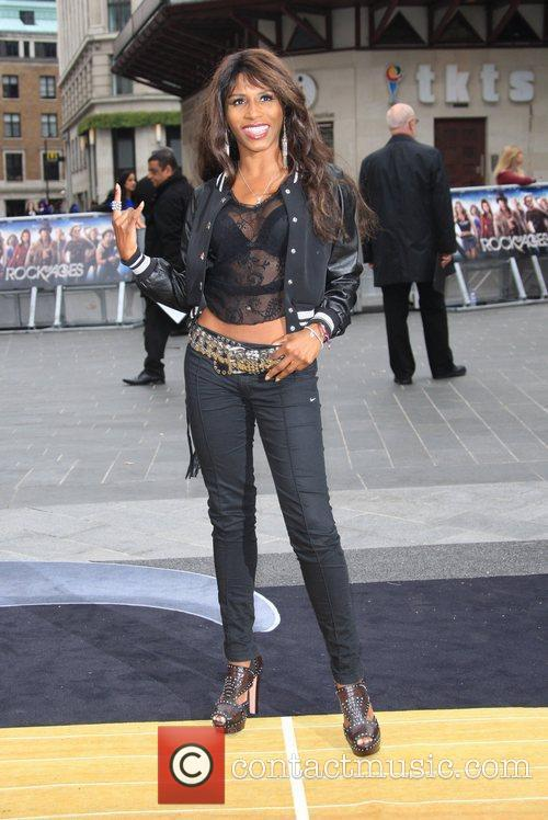 Sinitta and Odeon Leicester Square 6
