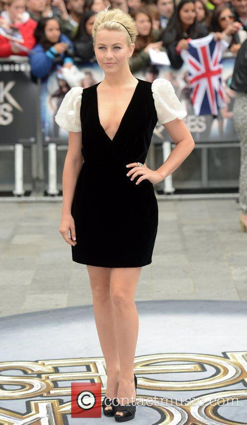 Julianne Hough, Odeon Leicester Square