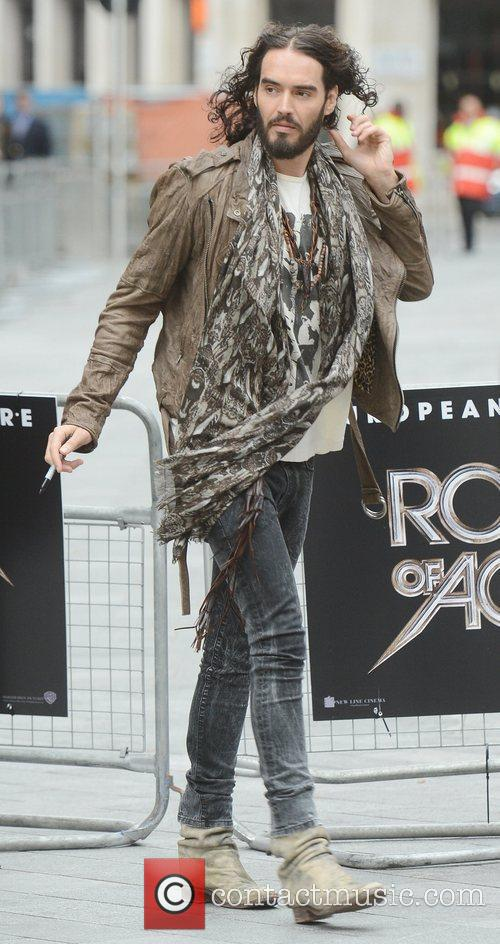Russell Brand and Odeon Leicester Square 5