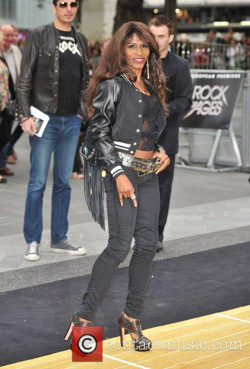 Sinitta and Odeon Leicester Square 8