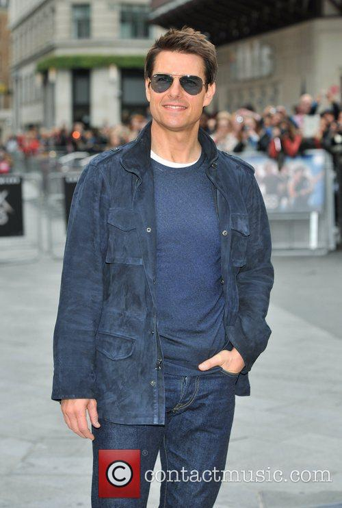 Tom Cruise and Odeon Leicester Square 13