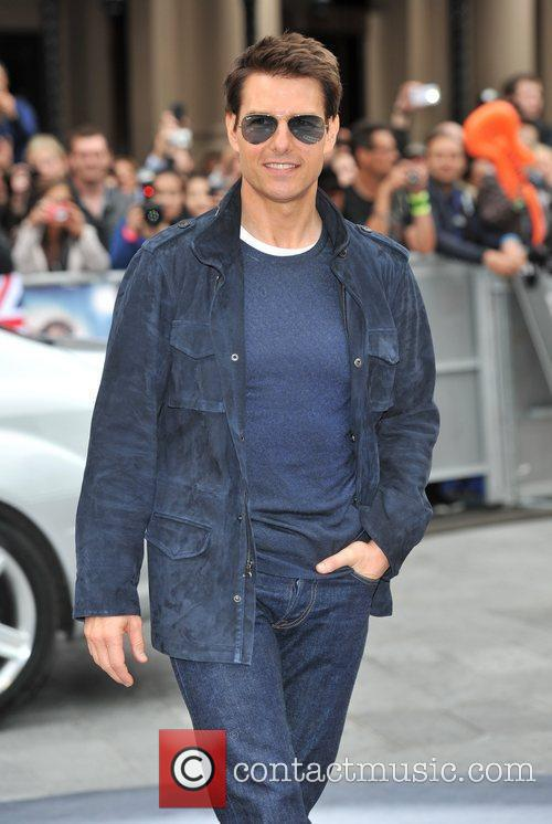 Tom Cruise and Odeon Leicester Square 14