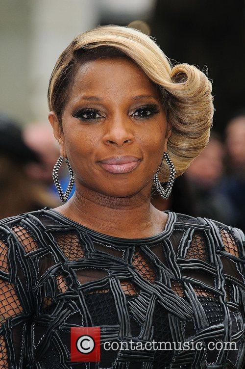 Mary J Blige and Odeon Leicester Square 3