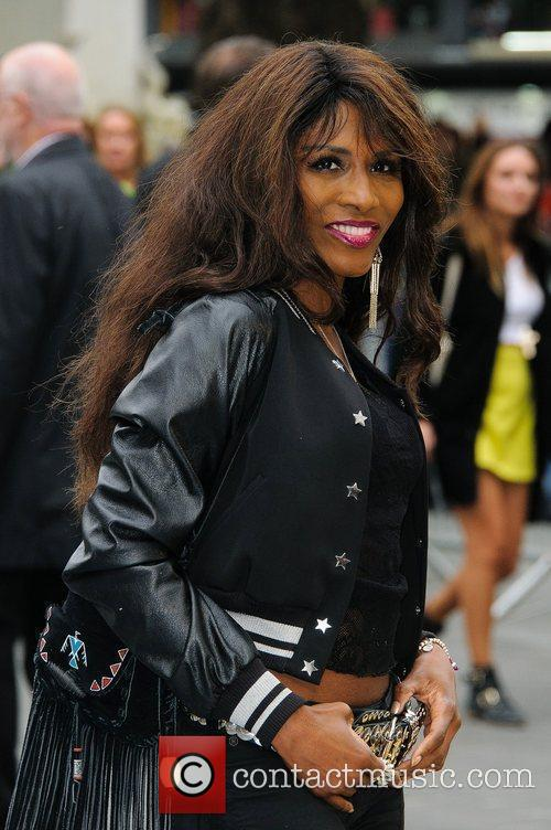 Sinitta and Odeon Leicester Square 1