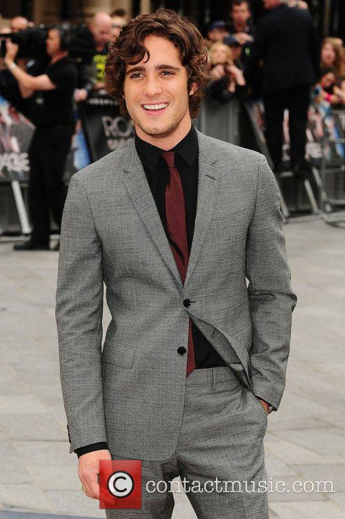 Diego Boneta and Odeon Leicester Square 7
