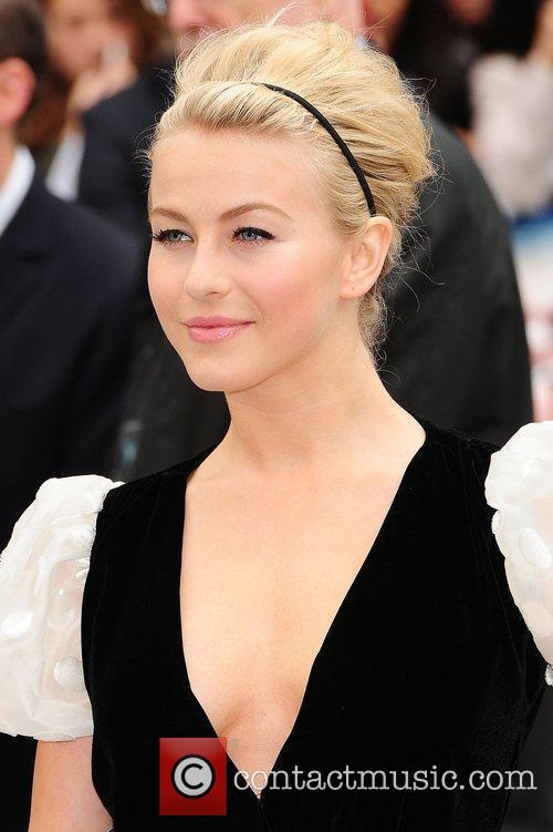 Julianne Hough and Odeon Leicester Square 1