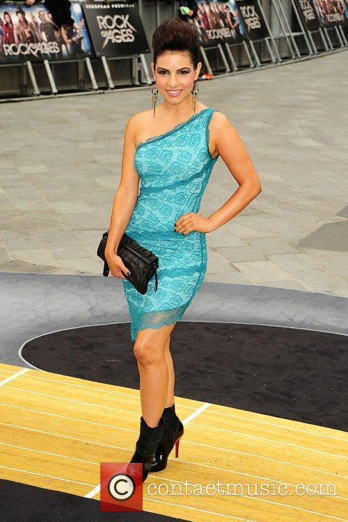 Roxanne Pallett and Odeon Leicester Square 3