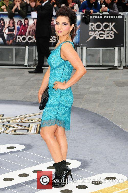 Roxanne Pallett and Odeon Leicester Square 4