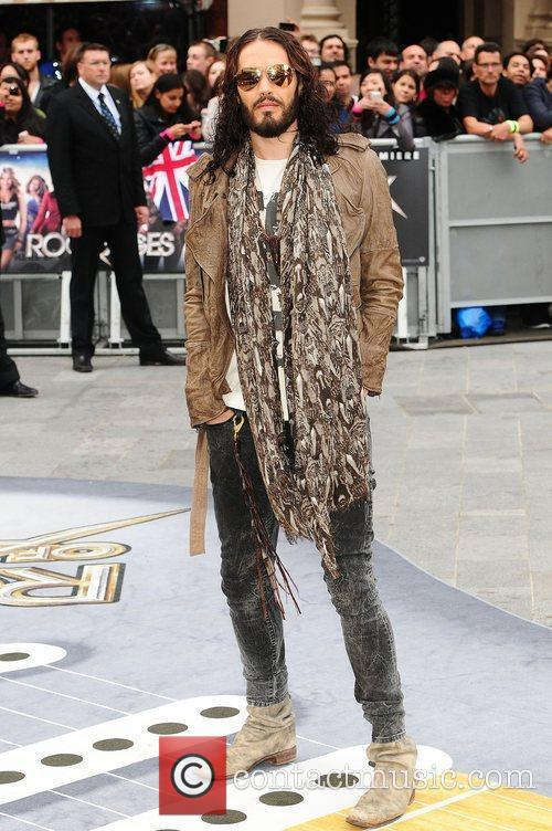 Russell Brand and Odeon Leicester Square 7