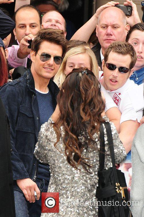 Tom Cruise and Odeon Leicester Square 1