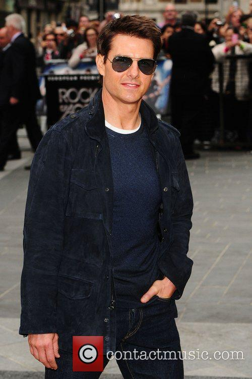 Tom Cruise and Odeon Leicester Square 7