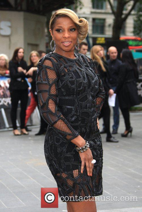 Mary J Blige and Odeon Leicester Square 9