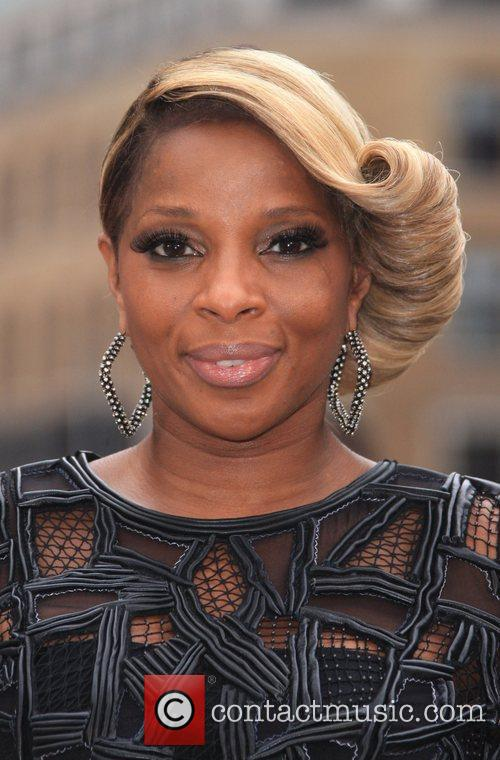Mary J Blige and Odeon Leicester Square 1