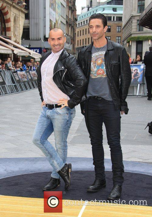 Louie Spence and Odeon Leicester Square 3