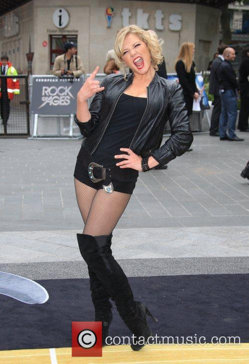 Suzanne Shaw and Odeon Leicester Square 8