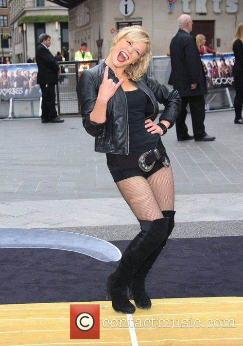 Suzanne Shaw and Odeon Leicester Square 10