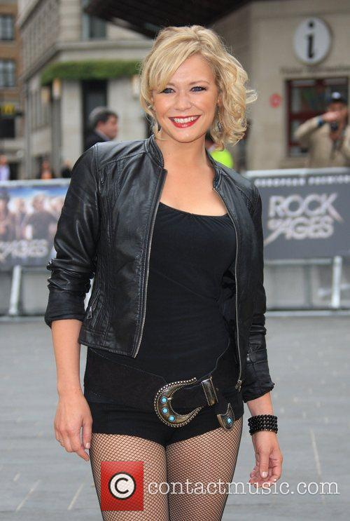 Suzanne Shaw and Odeon Leicester Square 15