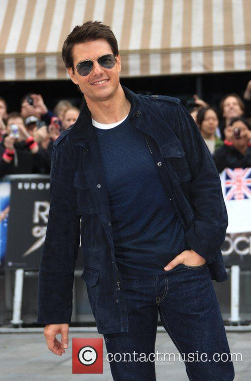 Tom Cruise and Odeon Leicester Square 16