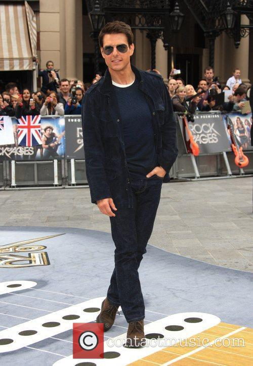 Tom Cruise and Odeon Leicester Square 8