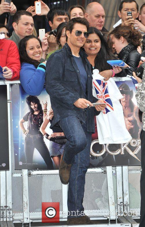 Tom Cruise and Odeon Leicester Square 9