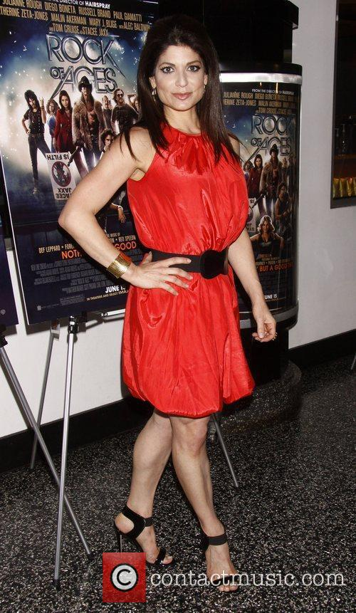 Tamsen Fadal 'Rock of Ages' Broadway Industry Screening...