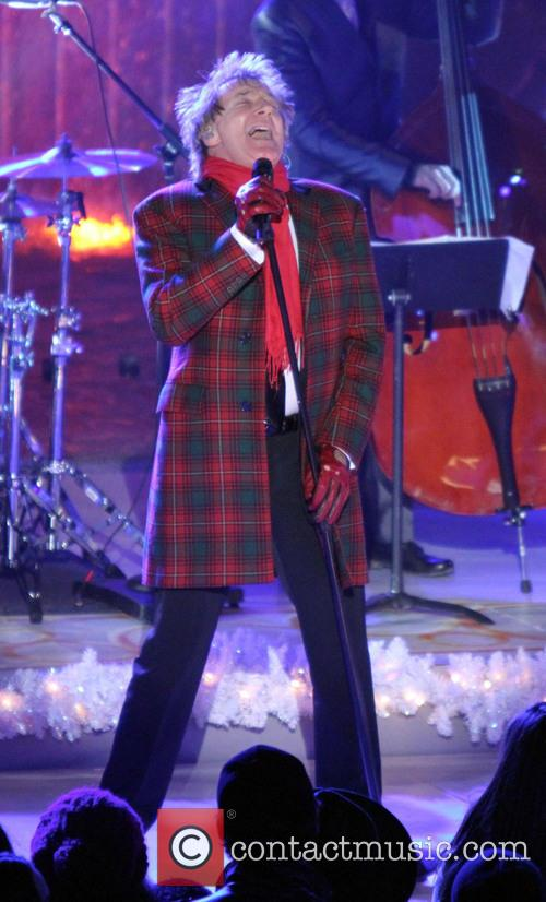 Rod Stewart, The Annual Rockefeller Center Christmas, Rockefeller Center, Tree Lighting Ceremony