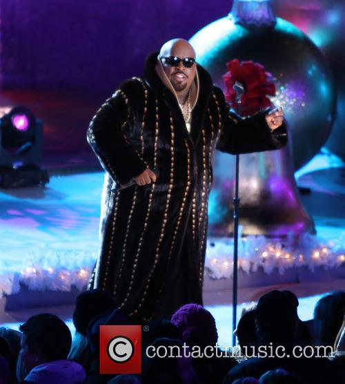 Cee Lo Green, Annual Rockefeller Center Christmas, Rockefeller Center and Tree Lighting Ceremony 3
