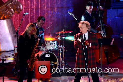 Rod Stewart, Annual Rockefeller Center Christmas, Rockefeller Center, Tree Lighting Ceremony and Performances 2