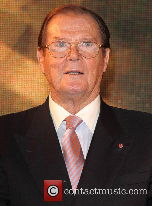 Sir Roger Moore and Hmv Oxford Street 3