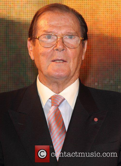 Sir Roger Moore and Hmv Oxford Street 2