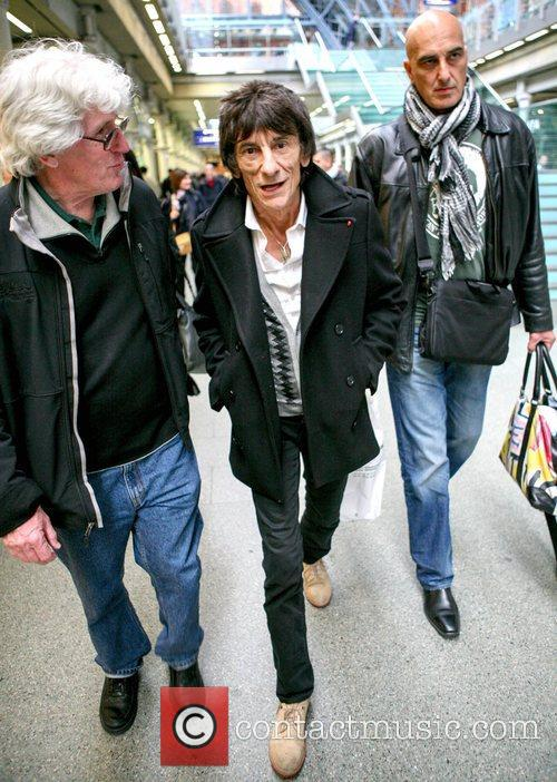 Ronnie Wood The Rolling Stones arrive at Kings...