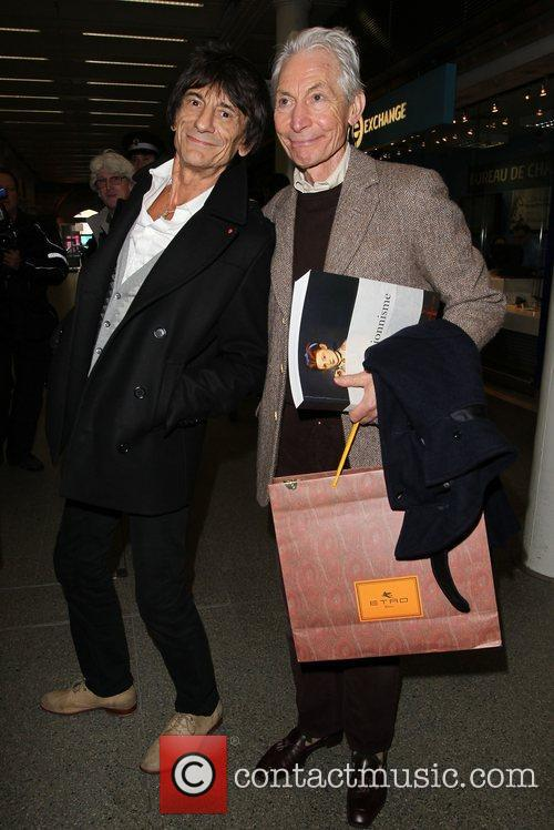 Charlie Watts and Ronnie Wood 5