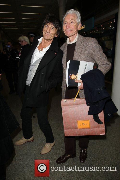 Charlie Watts and Ronnie Wood 3