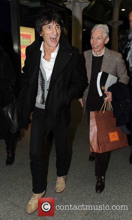 Ronnie Wood and Charlie Watts 2