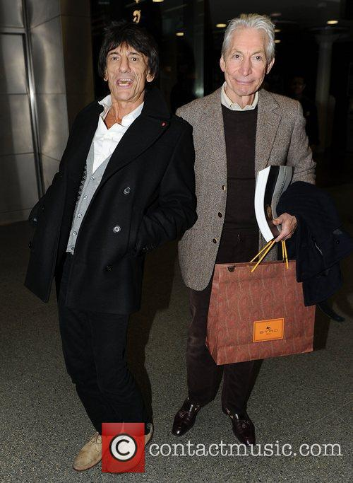 Ronnie Wood and Charlie Watts 3