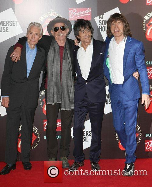 Charlie Watts, Keith Richards, Mick Jagger, Rolling Stones and Ronnie Wood 3