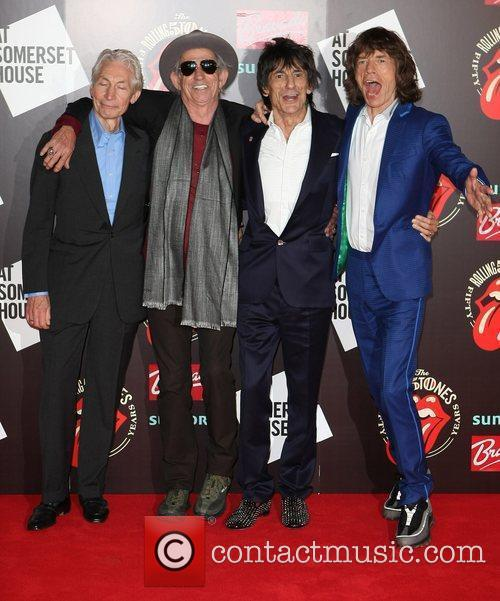 Charlie Watts, Keith Richards, Mick Jagger, Rolling Stones and Ronnie Wood 4