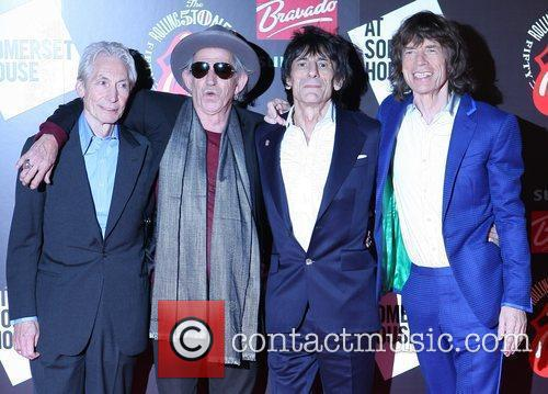 Charlie Watts, Keith Richards, Mick Jagger, Rolling Stones and Ronnie Wood 5